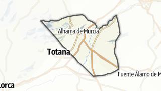 Térkép / Alhama de Murcia