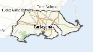 Térkép / Cartagena