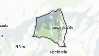 Mapa / Cuevas del Valle
