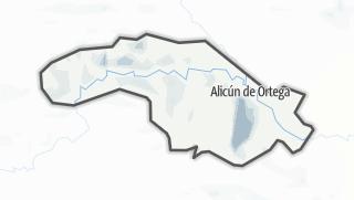 Mapa / Alicún de Ortega