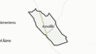 Mapa / Arevalillo
