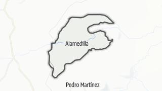 Mapa / Alamedilla