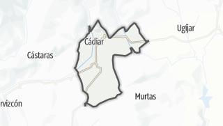 Mapa / Cádiar