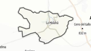 Mapa / La Malahá