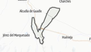 Mapa / La Calahorra