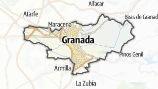 Mapa / Granada