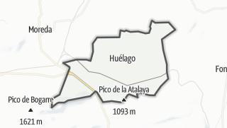 Mapa / Huélago