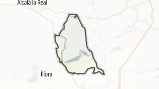 Mapa / Moclín