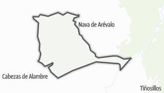 Mapa / San Vicente de Arévalo
