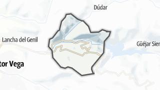 Mapa / Pinos Genil