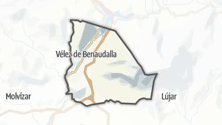 Mapa / Vélez de Benaudalla