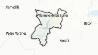 Mapa / Villanueva de las Torres