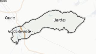 Mapa / Valle del Zalabí