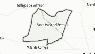 Mapa / Santa María del Berrocal