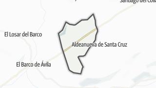 Mapa / Santa María de los Caballeros