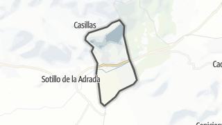 Mapa / Santa María del Tiétar