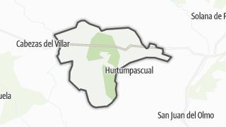 Mapa / Gallegos de Sobrinos