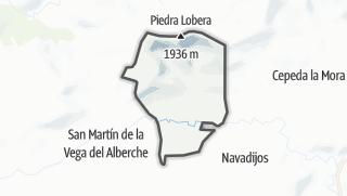 Mapa / Garganta del Villar