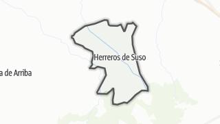 Mapa / Herreros de Suso