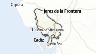 地图 / El Puerto de Santa María