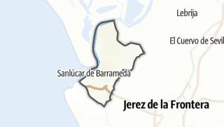 地图 / Sanlúcar de Barrameda