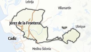 地图 / Jerez de la Frontera