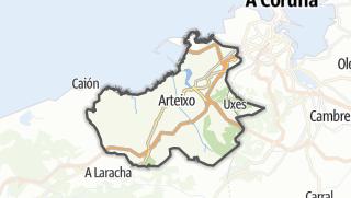 Kartta / Arteixo