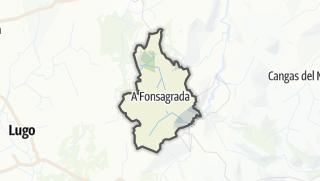 Kartta / A Fonsagrada
