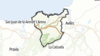Hartă / Castrillón