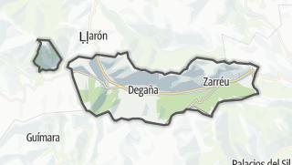 Hartă / Degaña