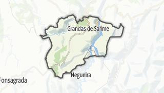 Hartă / Grandas de Salime