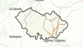 Hartă / Llanera