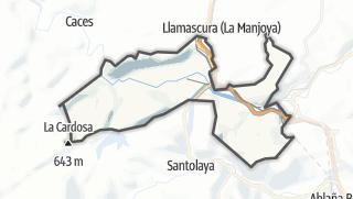 Hartă / Ribera de Arriba