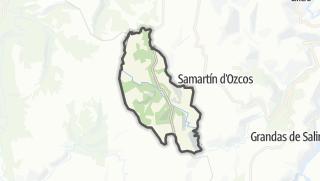 Hartă / Santa Eulalia de Oscos