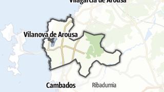 Kartta / Vilanova de Arousa