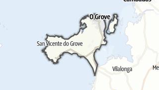 Kartta / O Grove