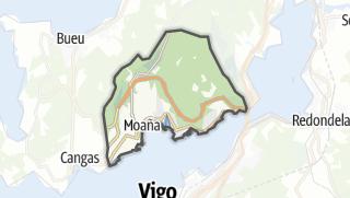 Kartta / Moaña