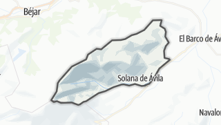Mapa / Solana de Ávila