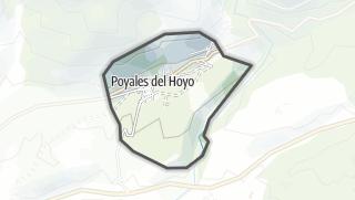 Mapa / Poyales del Hoyo