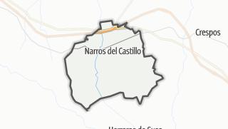 Mapa / Narros del Castillo