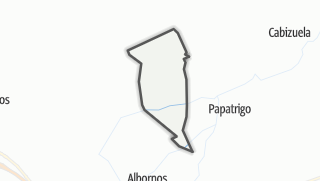 Mapa / Narros de Saldueña