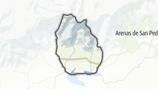 Mapa / Candeleda