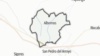 Mapa / Albornos