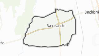 Mapa / Blascosancho