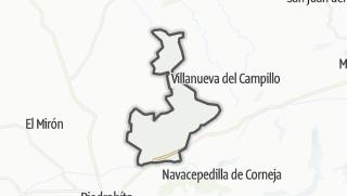 Mapa / Bonilla de la Sierra