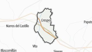 Mapa / Crespos