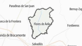 Mapa / Flores de Ávila