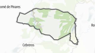 Mapa / El Hoyo de Pinares