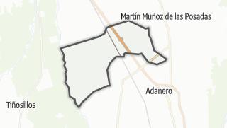 Mapa / Gutierre-Muñoz