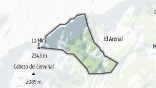 Mapa / El Hornillo